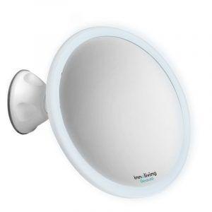 INNOLIVING Увеличително козметично огледало с LED светлина INN - 804