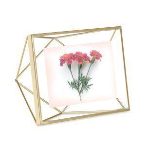 "UMBRA Рамка за снимки ""PRISMA"" - цвят месинг - 10х15см"