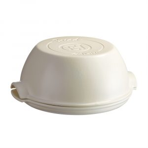 "EMILE HENRY Керамична кръгла форма за печене на хляб ""ROUND BREAD BAKER"" - цвят екрю"
